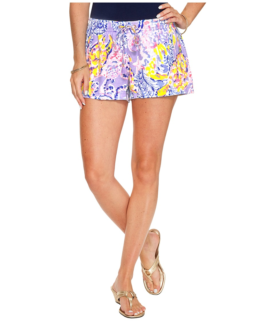 Lilly Pulitzer - Baybreeze Shorts (Lilac Verben So Snappy) Women's Shorts