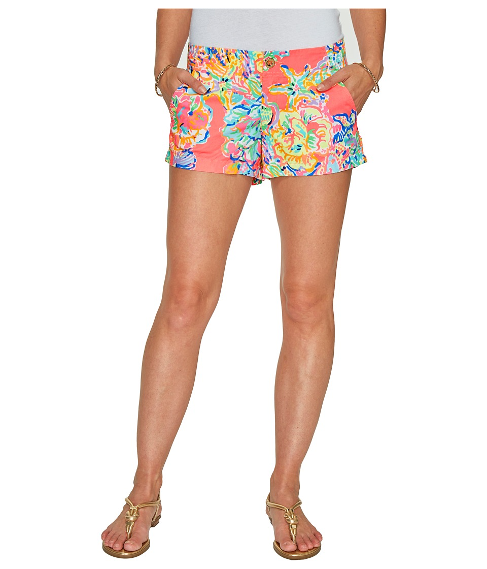 Lilly Pulitzer - Kerrie Shorts (Coral Reef Island Seacret) Women's Shorts