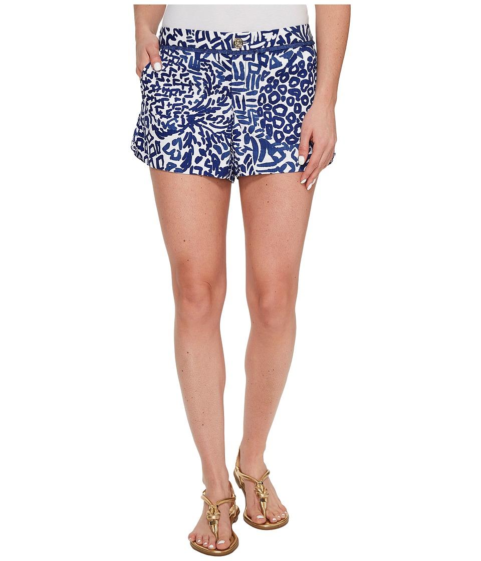 Lilly Pulitzer - Adie Shorts (Indigo Home Slice) Women's Shorts