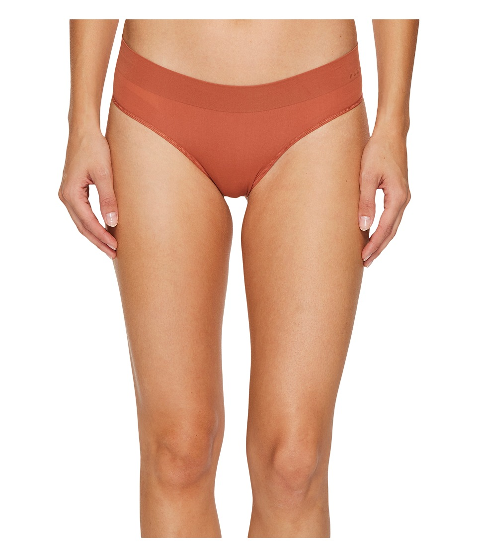 DKNY Intimates - Solid Thong (Clay) Women's Underwear