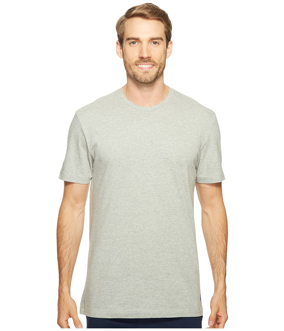 Polo Ralph Lauren - Relaxed Fit Jersey Short Sleeve Crew (Andover Heather/Rugby Royal Polo Player) Men's Underwear
