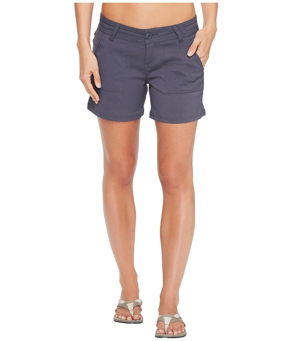 Prana - Olivia Shorts (Coal) Women's Shorts