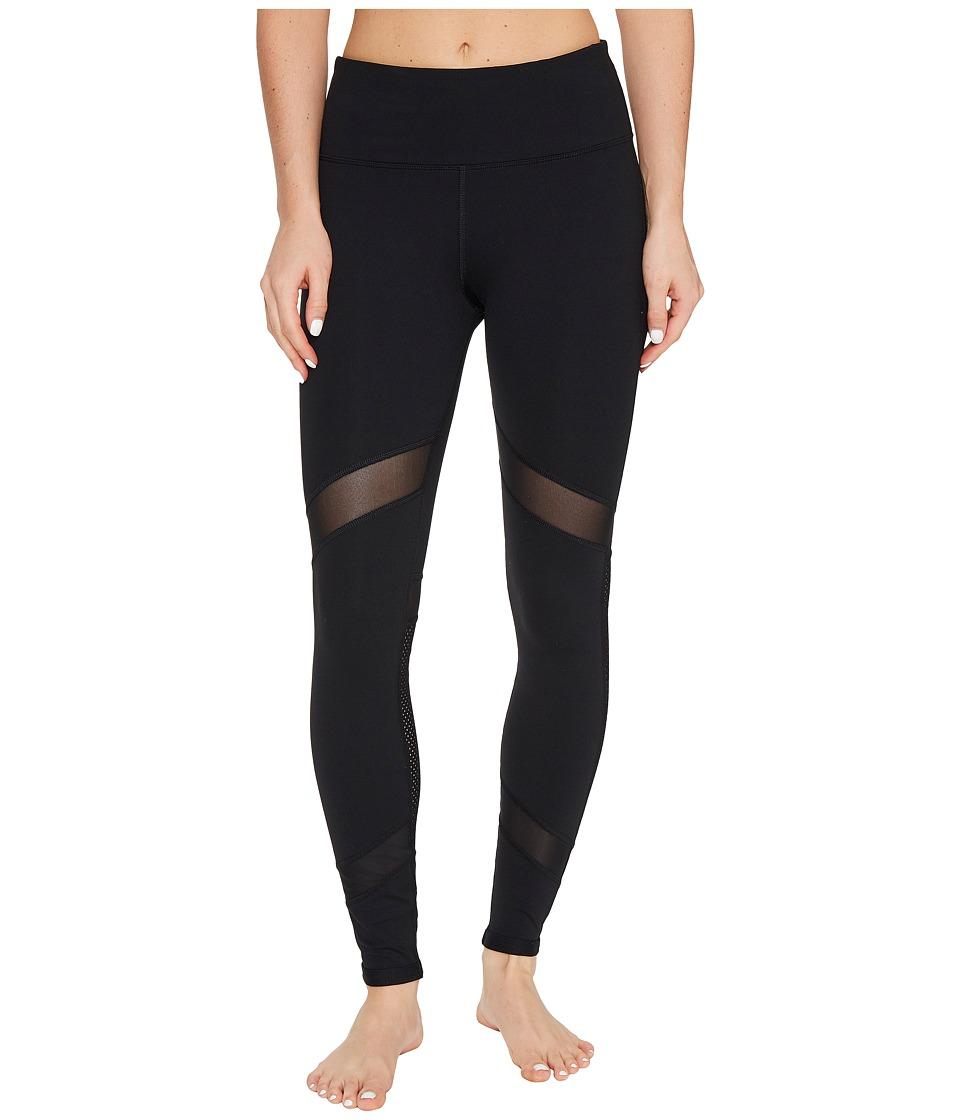 Lorna Jane - Alexandra Core F/L Tights (Black) Women's Casual Pants