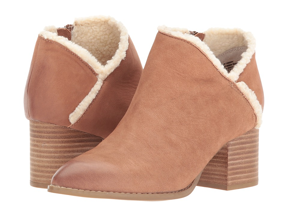 Seychelles Preview (Cognac Nubuck/Shearling) Women