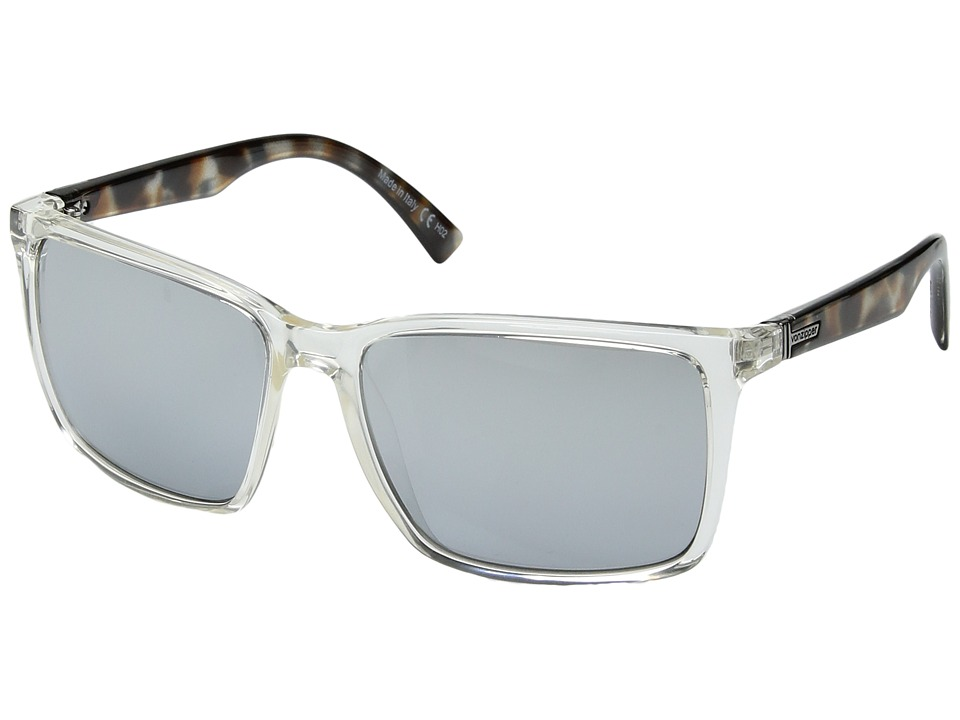 VonZipper - Lesmore (Crystal Quarter Tortoise/Silver Chrome Gradient) Sport Sunglasses