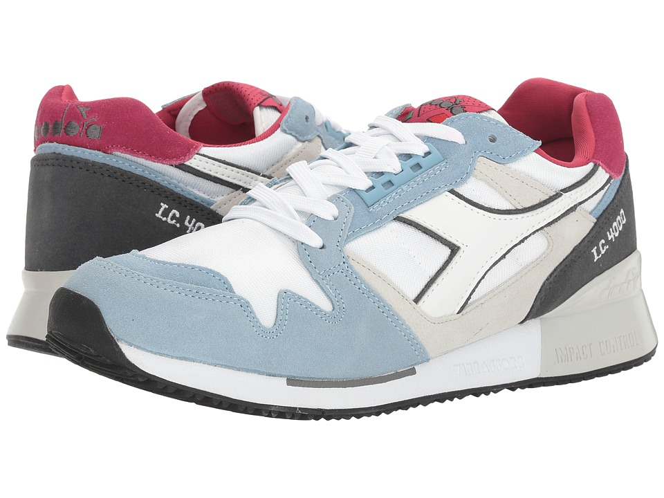 Diadora - I.C 4000 NYL II (Blue Bell/Steel Gray) Athletic Shoes