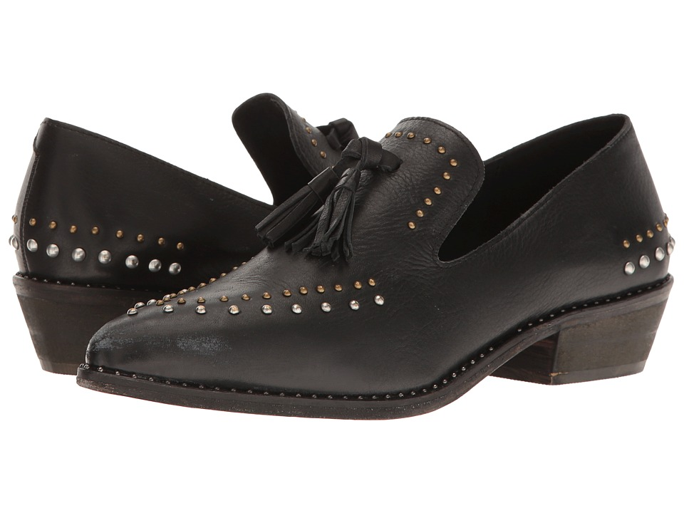 Free People - Rangley Loafer (Black) Women's Shoes