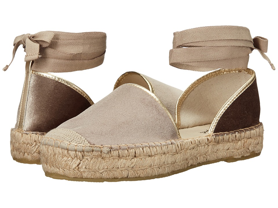 Free People - Paradise Espadrille (Taupe) Women's Shoes