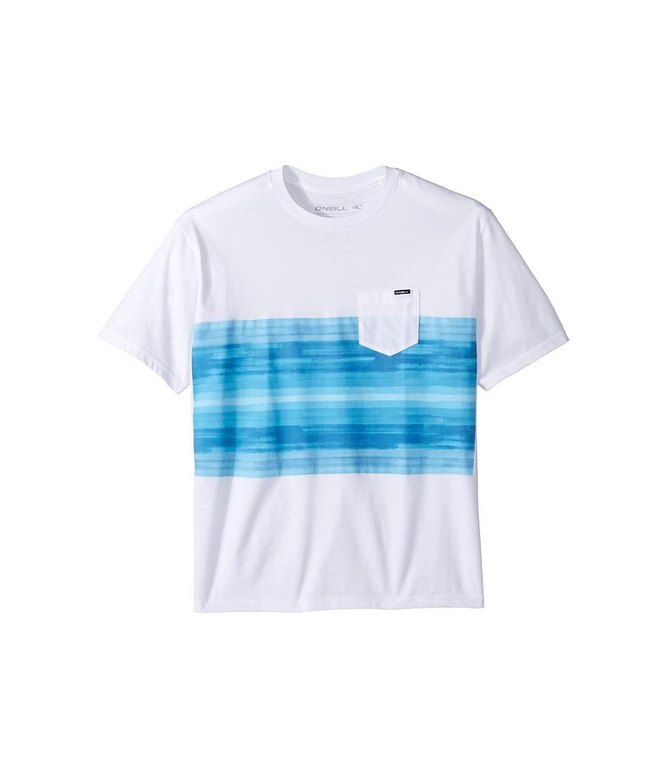 O'Neill Kids - Chiba Short Sleeve Screen T-Shirt (Big Kids) (White) Boy's T Shirt