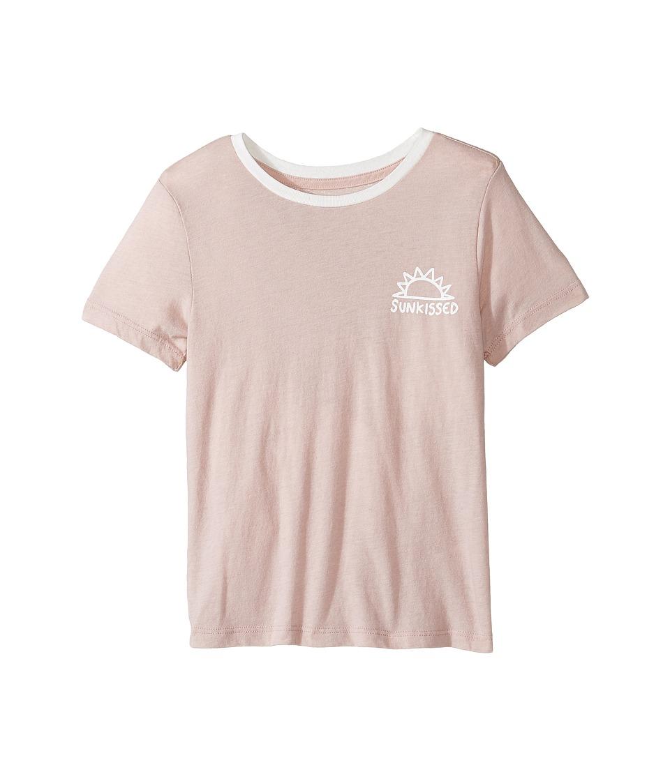 Spiritual Gangster Kids - Sunkissed Tee (Big Kids) (Shell) Girl's T Shirt