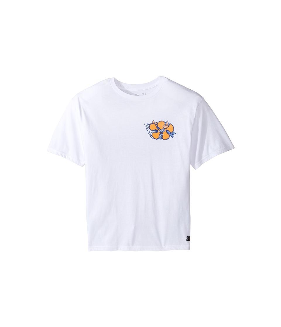 O'Neill Kids - Simich Short Sleeve Screen T-Shirt (Big Kids) (White) Boy's T Shirt