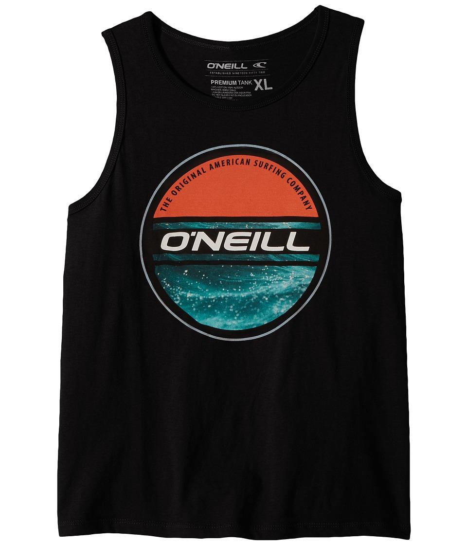 O'Neill Kids - Waterlogged Tank Top (Big Kids) (Black) Boy's Clothing