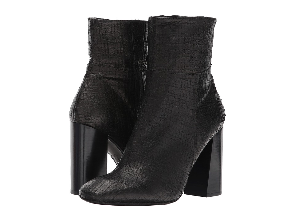Free People Nolita Ankle Boot (Black) Women
