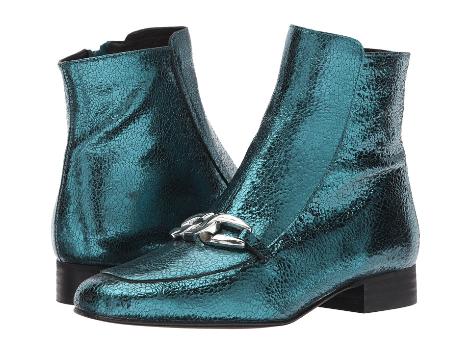 Free People Emerald City Ankle Boot (Green) Women