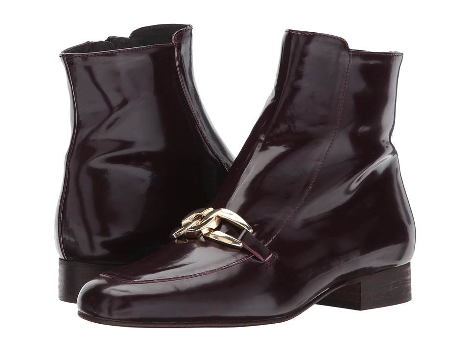 Free People Emerald City Ankle Boot (Wine) Women