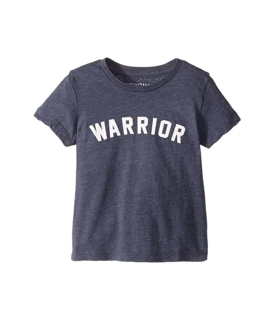 Spiritual Gangster Kids - Warrior Tee (Toddler/Little Kids) (Blue Moon) Kid's T Shirt