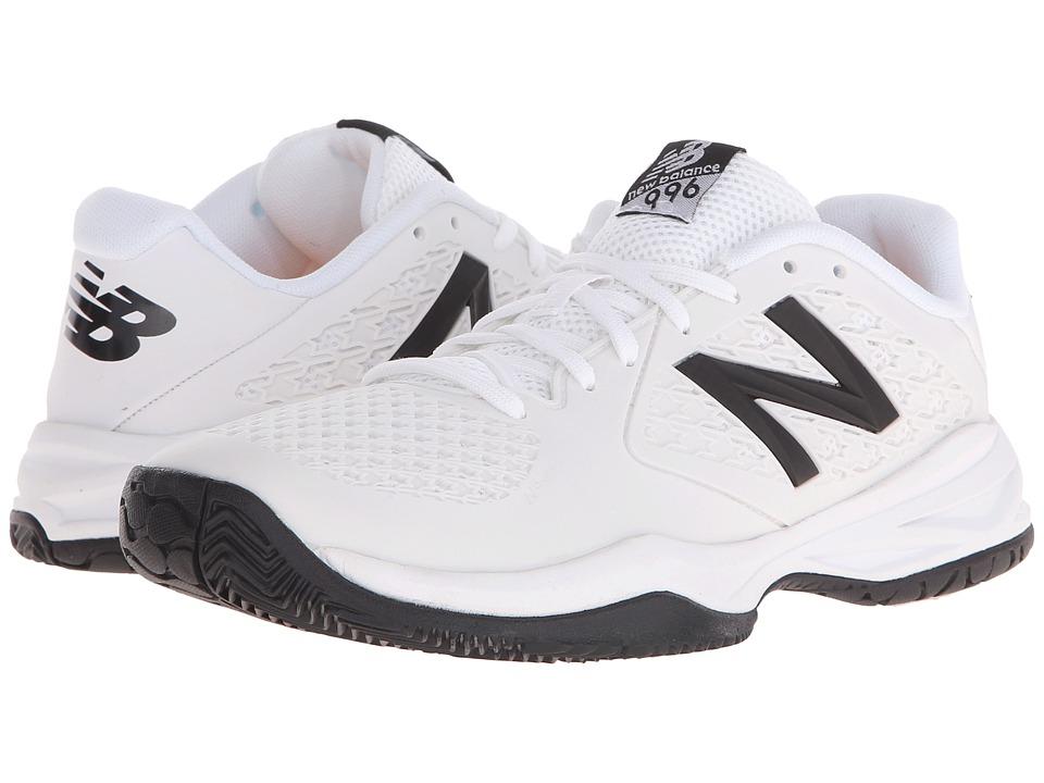 New Balance Kids KC996v2 (Little Kid/Big Kid) (White) Boys Shoes