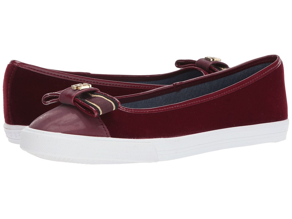 Tommy Hilfiger - Bello 2 (Dark Red Fabric) Women's Shoes