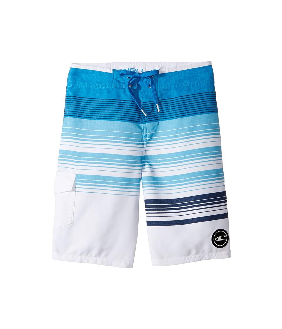 O'Neill Kids - Lennox Boardshorts (Big Kids) (Blue) Boy's Swimwear