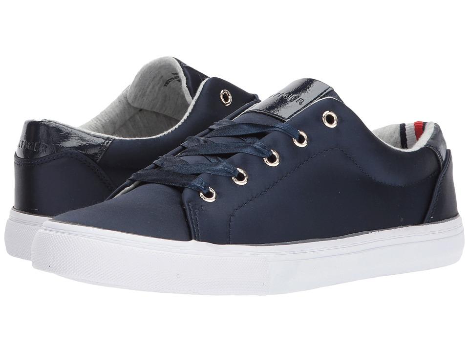 Tommy Hilfiger - Lenz (Dark Blue Satin) Women's Shoes