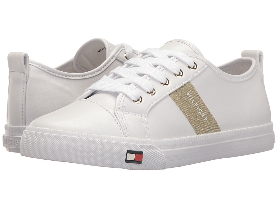 Tommy Hilfiger - Luckee (White Multi) Women's Shoes