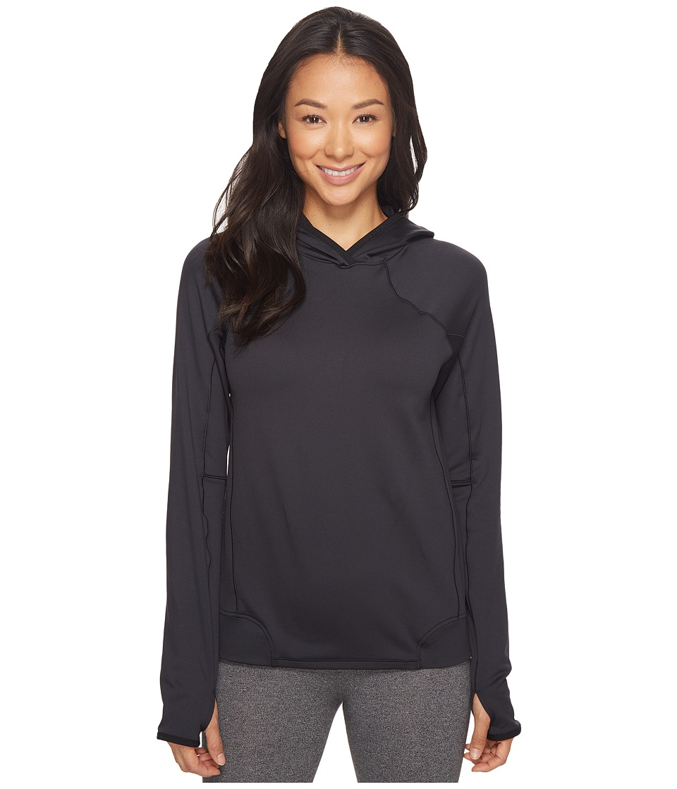 Under Armour UA Coldgear(r) Armour Pullover Hoodie (Black/Black/Metallic Silver) Women