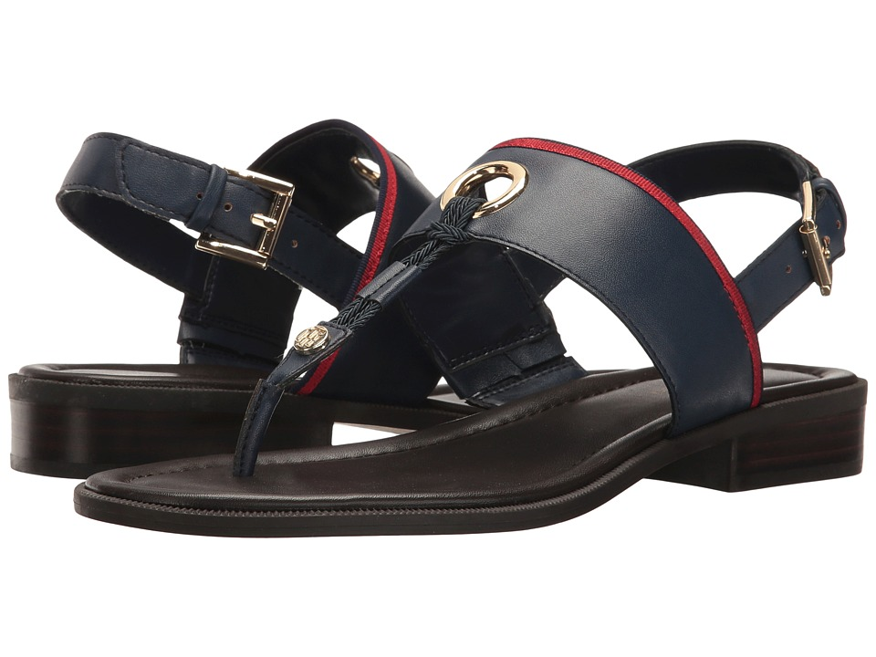 Tommy Hilfiger - Dara 2 (Deep Baltic/Deep Baltic/Tropic) Women's Shoes