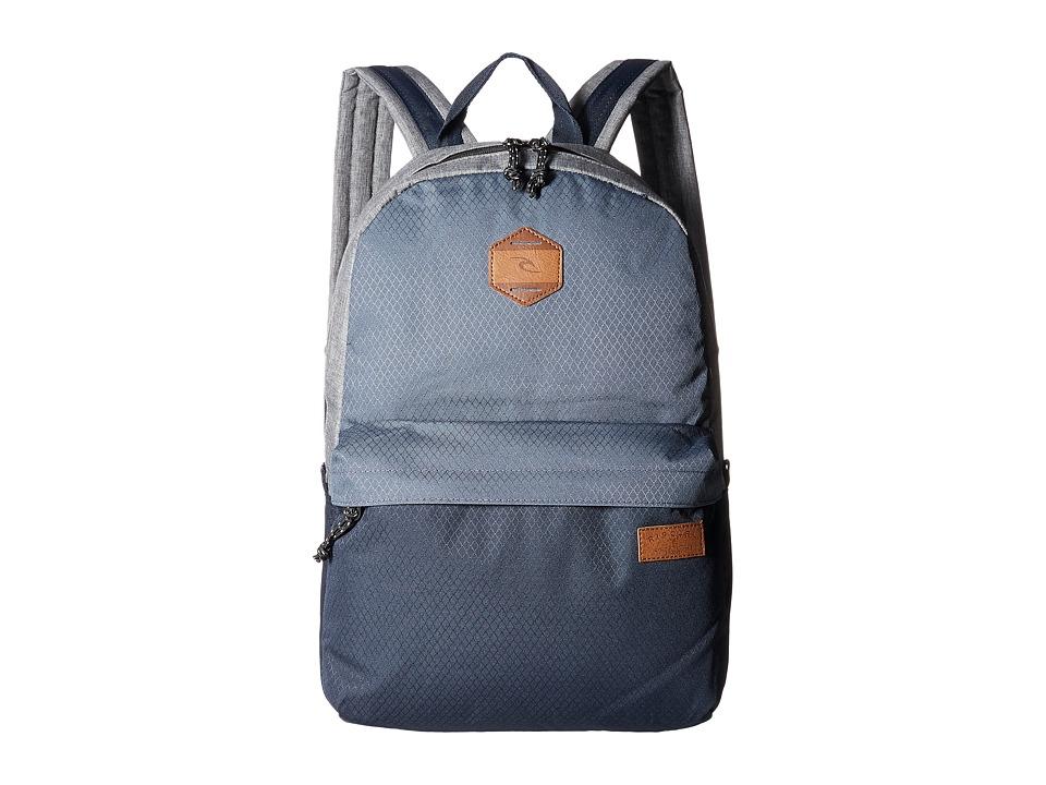 Rip Curl - Mood Backpack (Stacka Navy) Backpack Bags