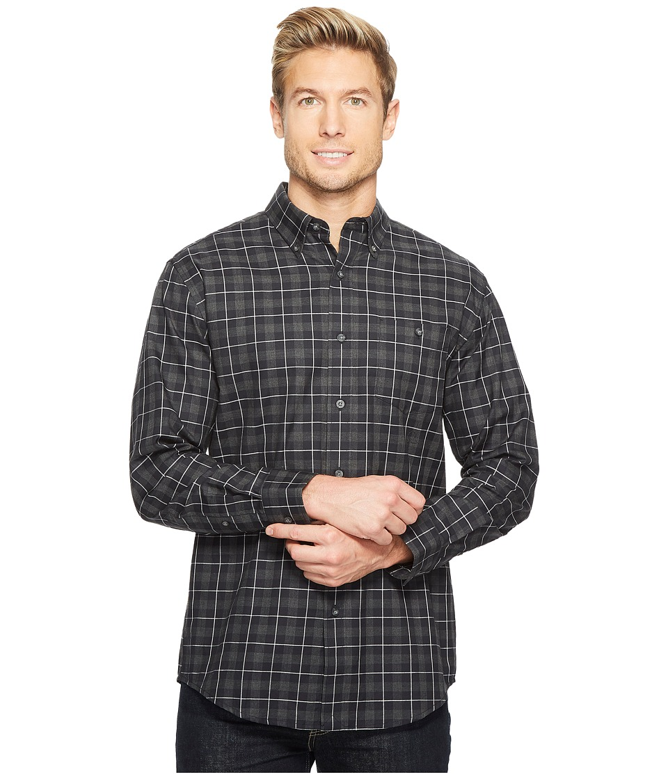 Pendleton - Belmont Heathered Shirt (Smokey Check) Men's Clothing