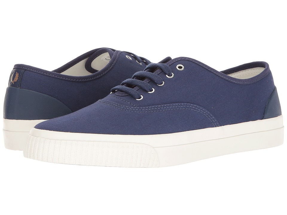 Fred Perry - Barson Canvas (French Navy) Men's Shoes