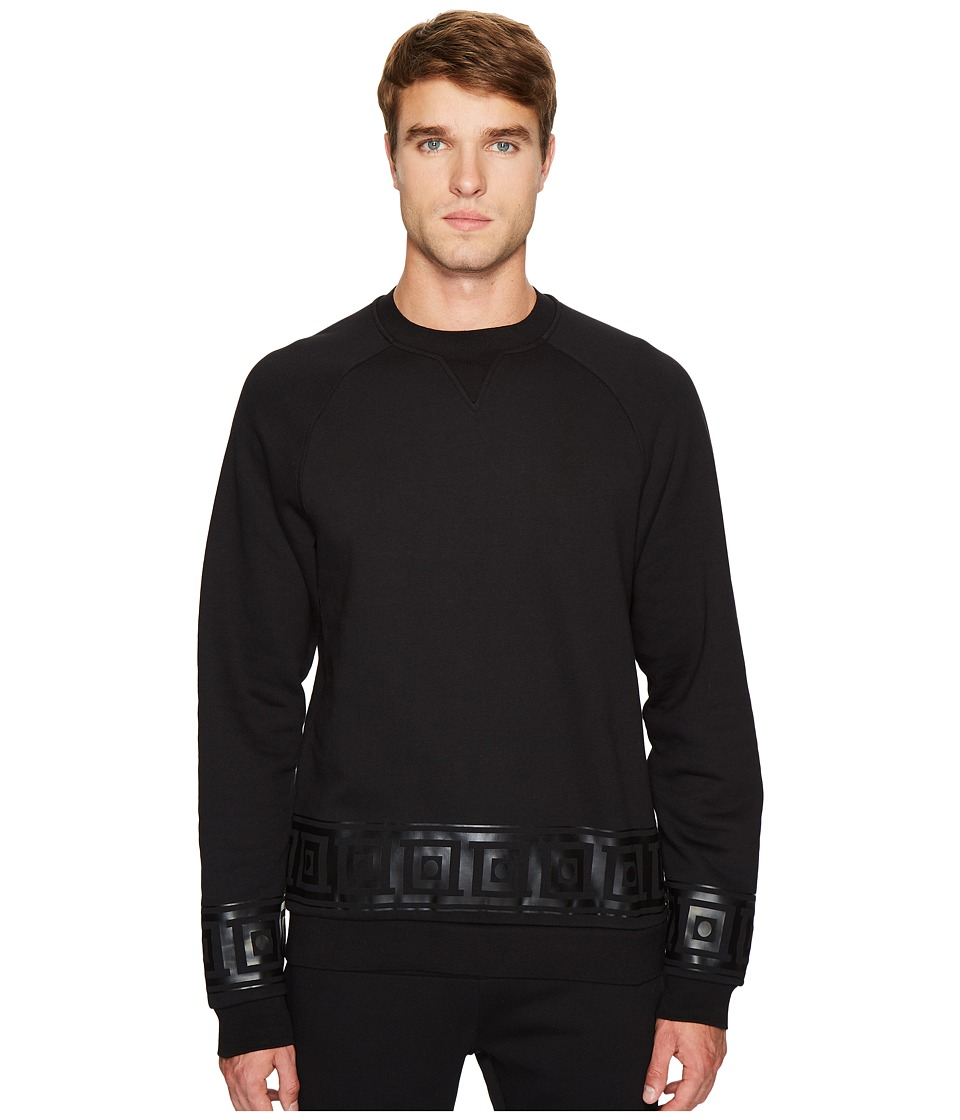 Versace Collection - Key Border Sweatshirt (Black) Men's Sweatshirt