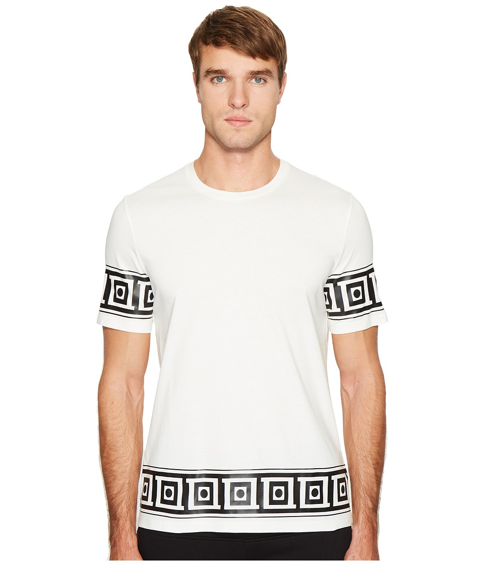 Versace Collection - Logo T-Shirt (White) Men's T Shirt