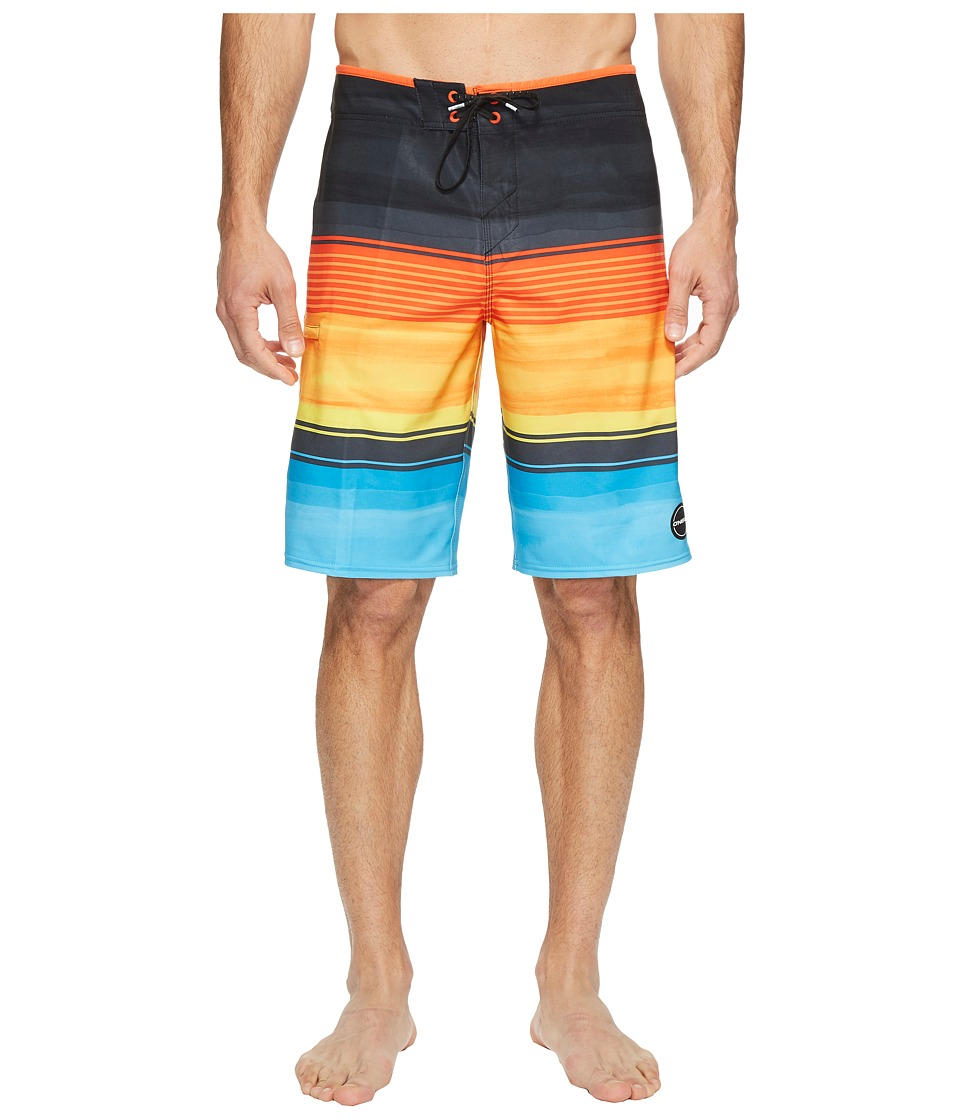 O'Neill - Hyperfreak Heist Superfreak Series Boardshorts (Multi) Men's Swimwear