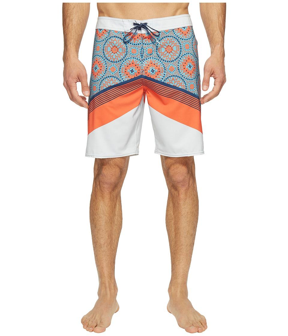 O'Neill - Hyperfreak Abo-Geo Superfreak Series Boardshorts (Fog) Men's Swimwear