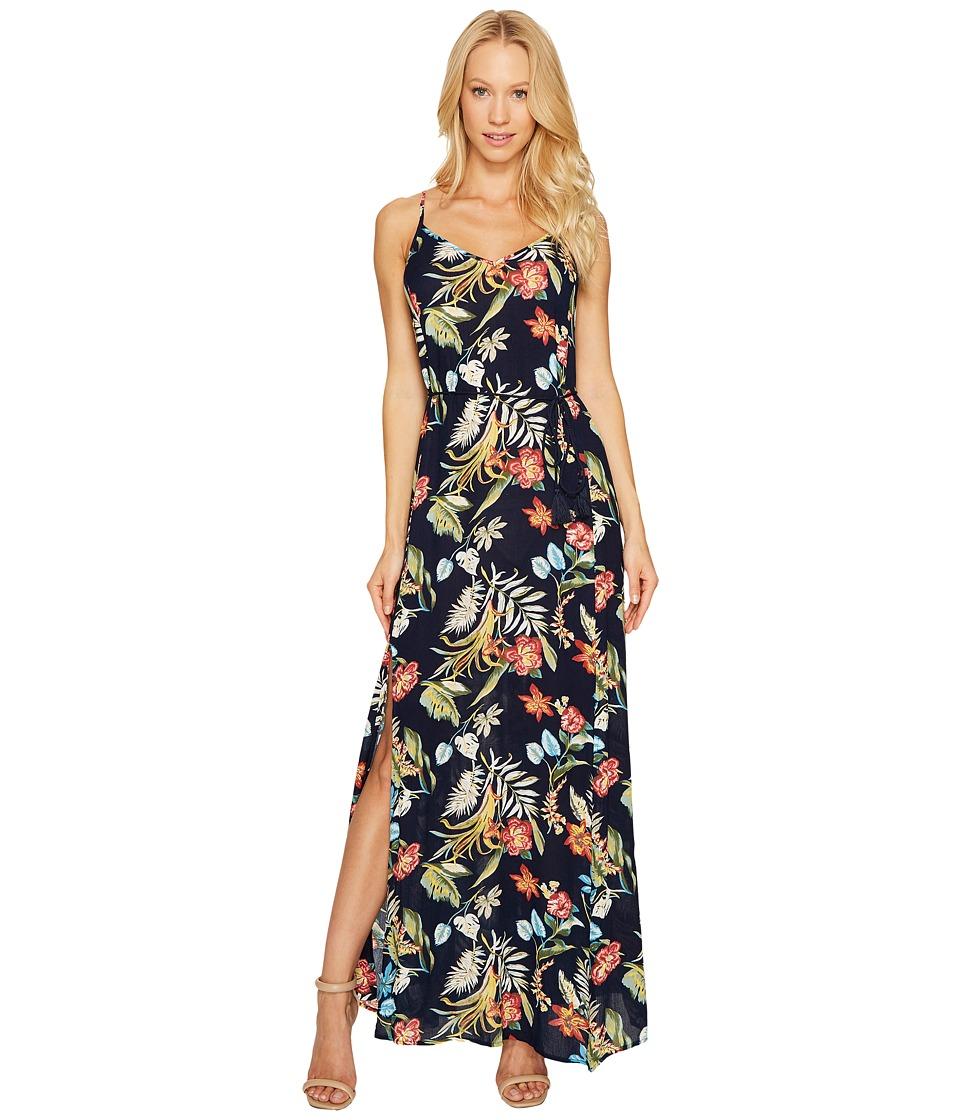Brigitte Bailey - Addilyn Sleeveless Maxi Dress (Navy) Women's Dress