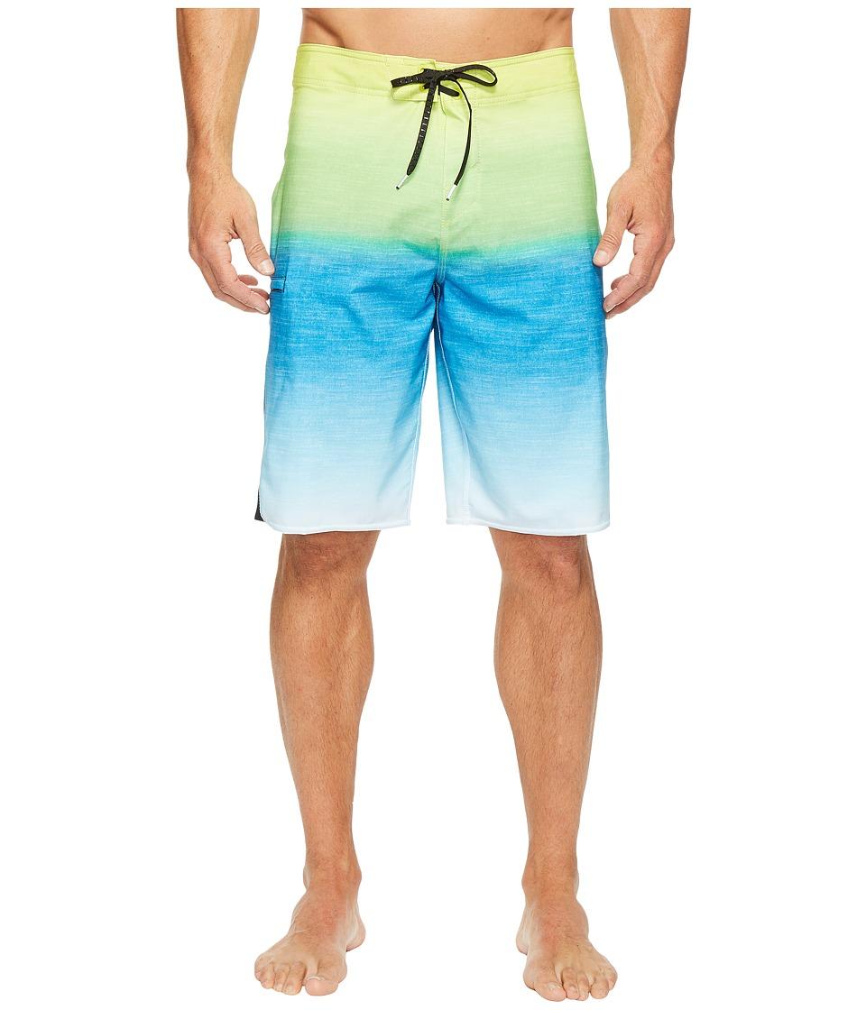 O'Neill - Superfreak Fader Superfreak Series Boardshorts (Lime) Men's Swimwear