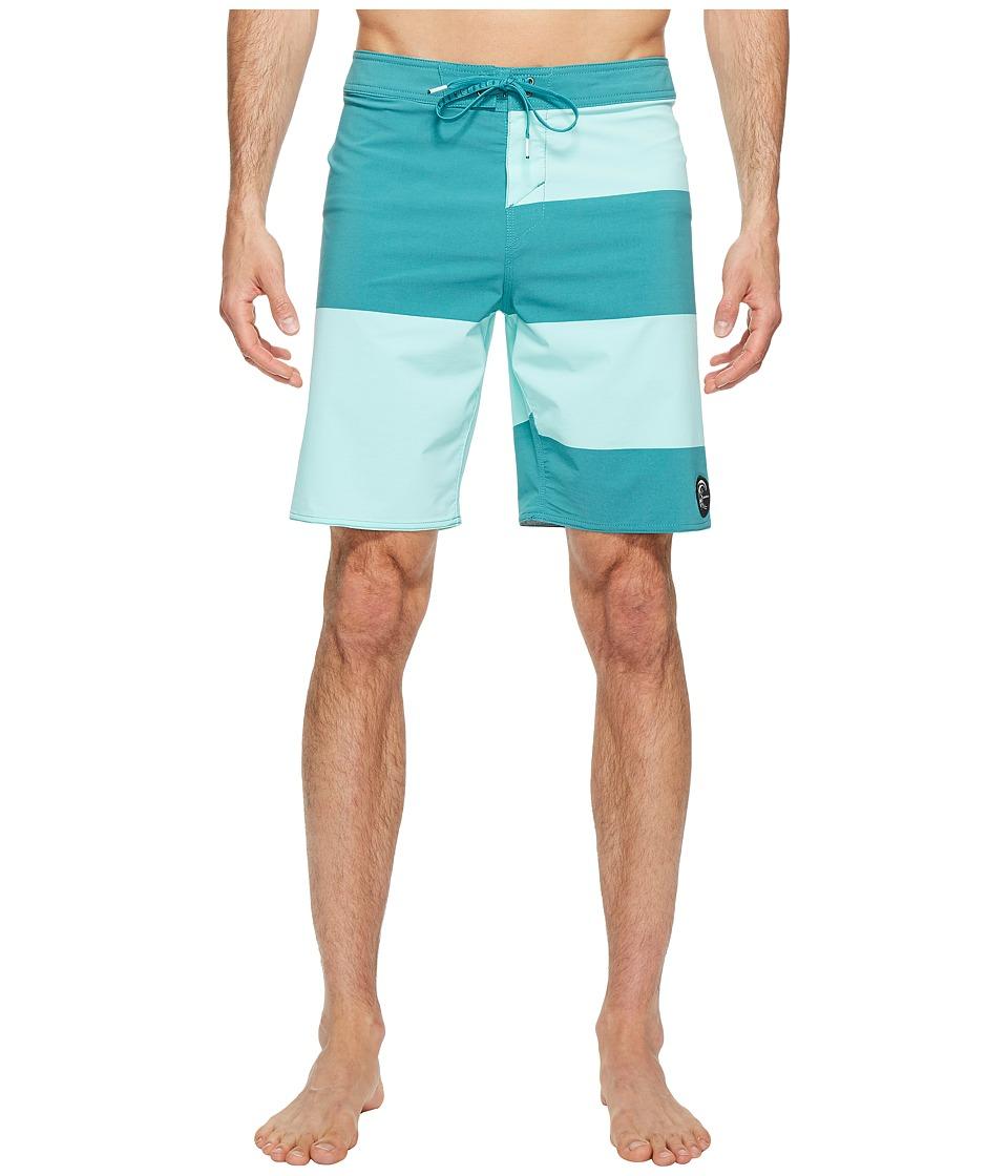 O'Neill - Hyperfreak Basis Superfreak Series Boardshorts (Jade) Men's Swimwear