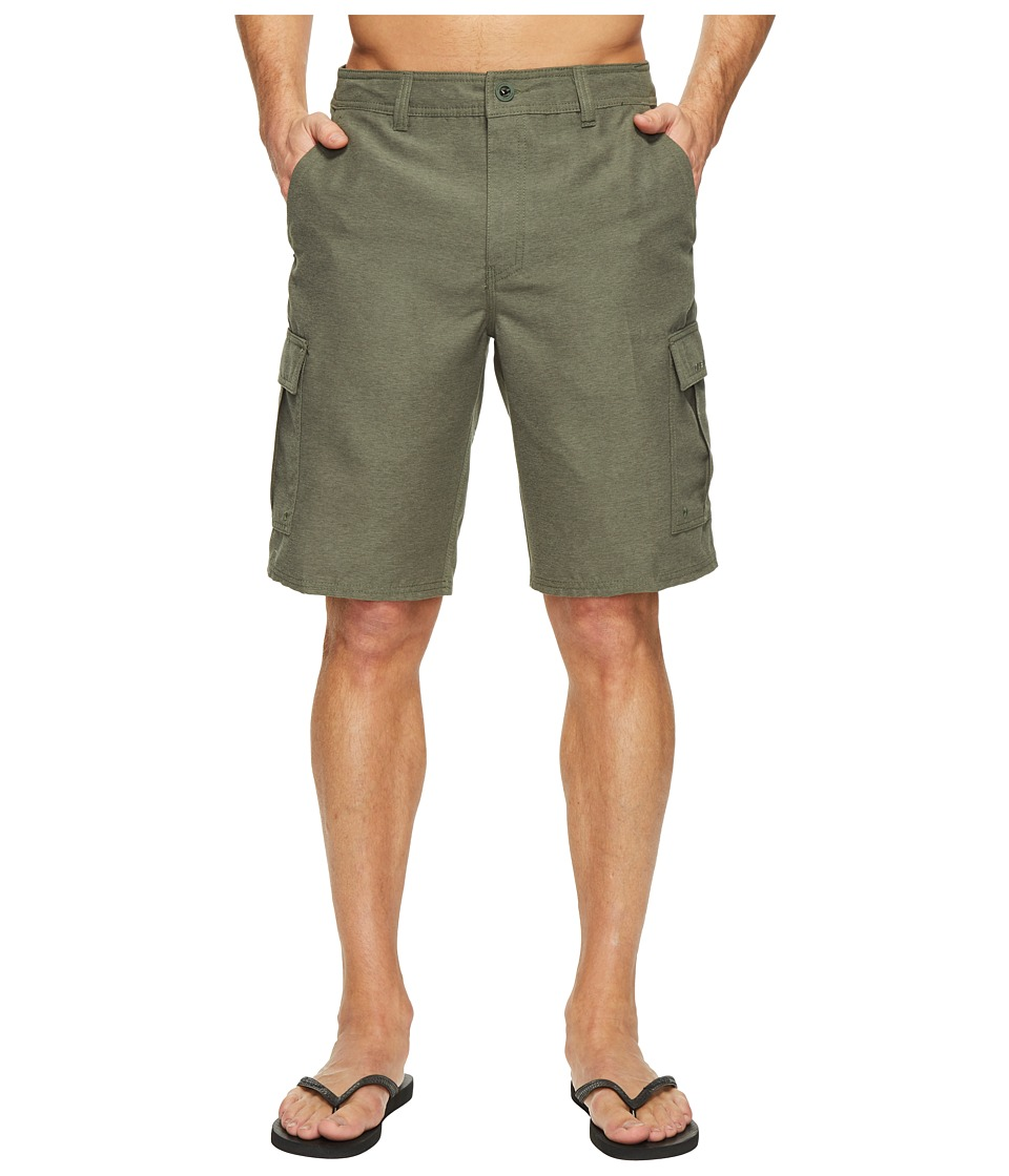 O'Neill - Ranger Cargo Hybrid Boardshorts (Army Heather) Men's Swimwear