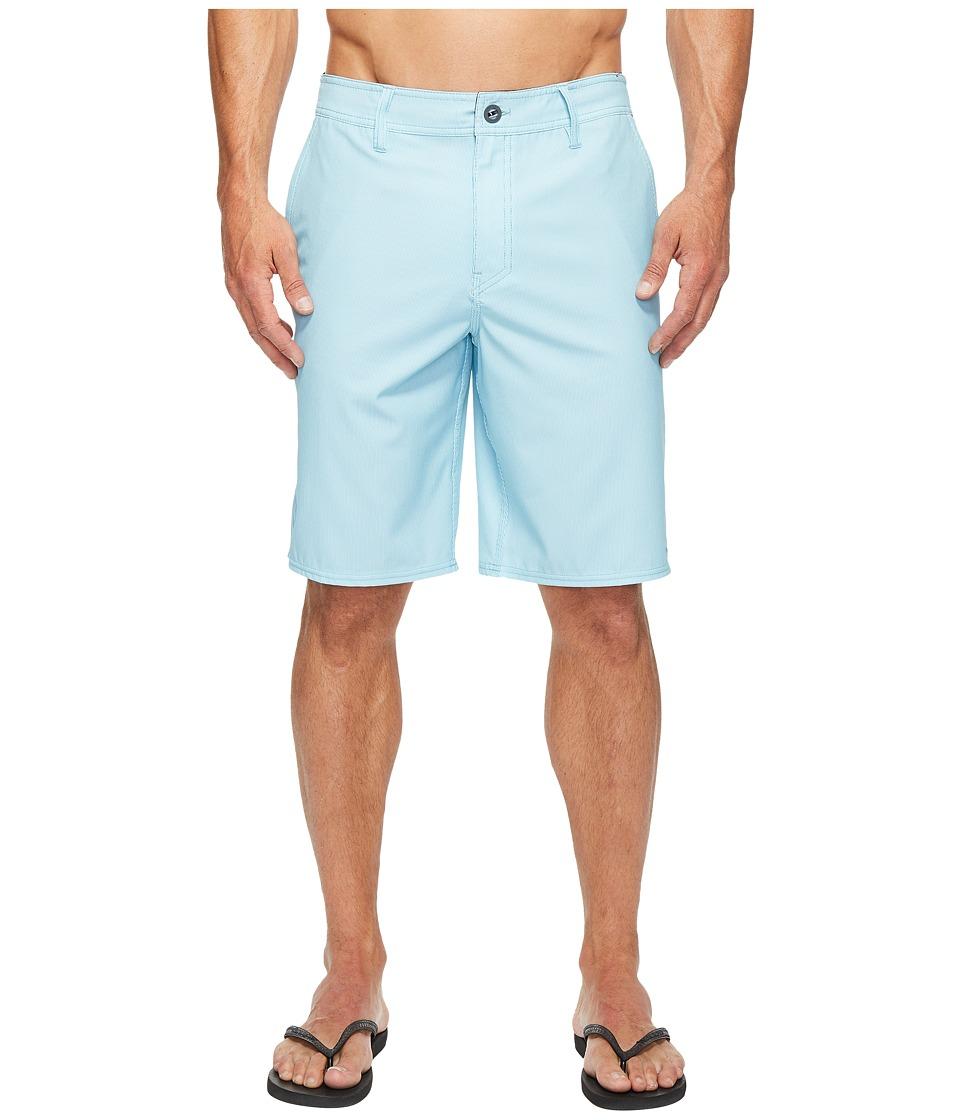 O'Neill - Pinski Hybrid Boardshorts (Turquoise) Men's Swimwear