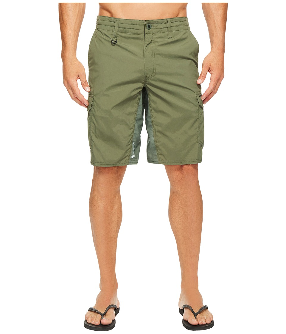 O'Neill - Traveler Cargo Hybrid Shorts (Army) Men's Swimwear