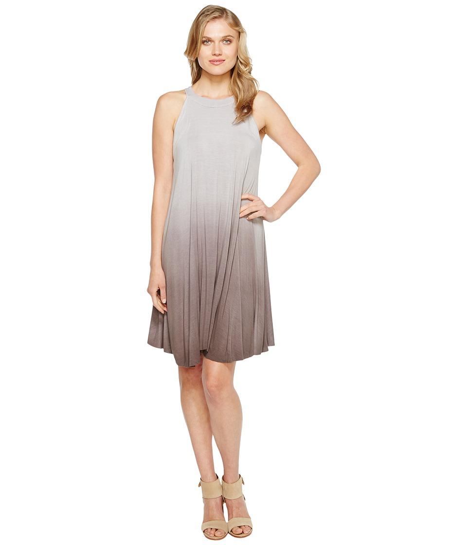 Culture Phit - Adrienne Sleeveless Tie-Dye Dress (Charcoal) Women's Dress