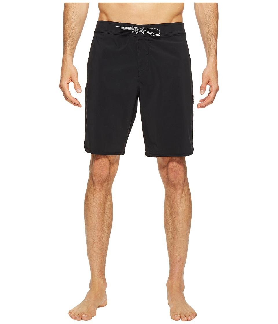 O'Neill - Hyperfreak Echo Boardshorts (Black) Men's Swimwear