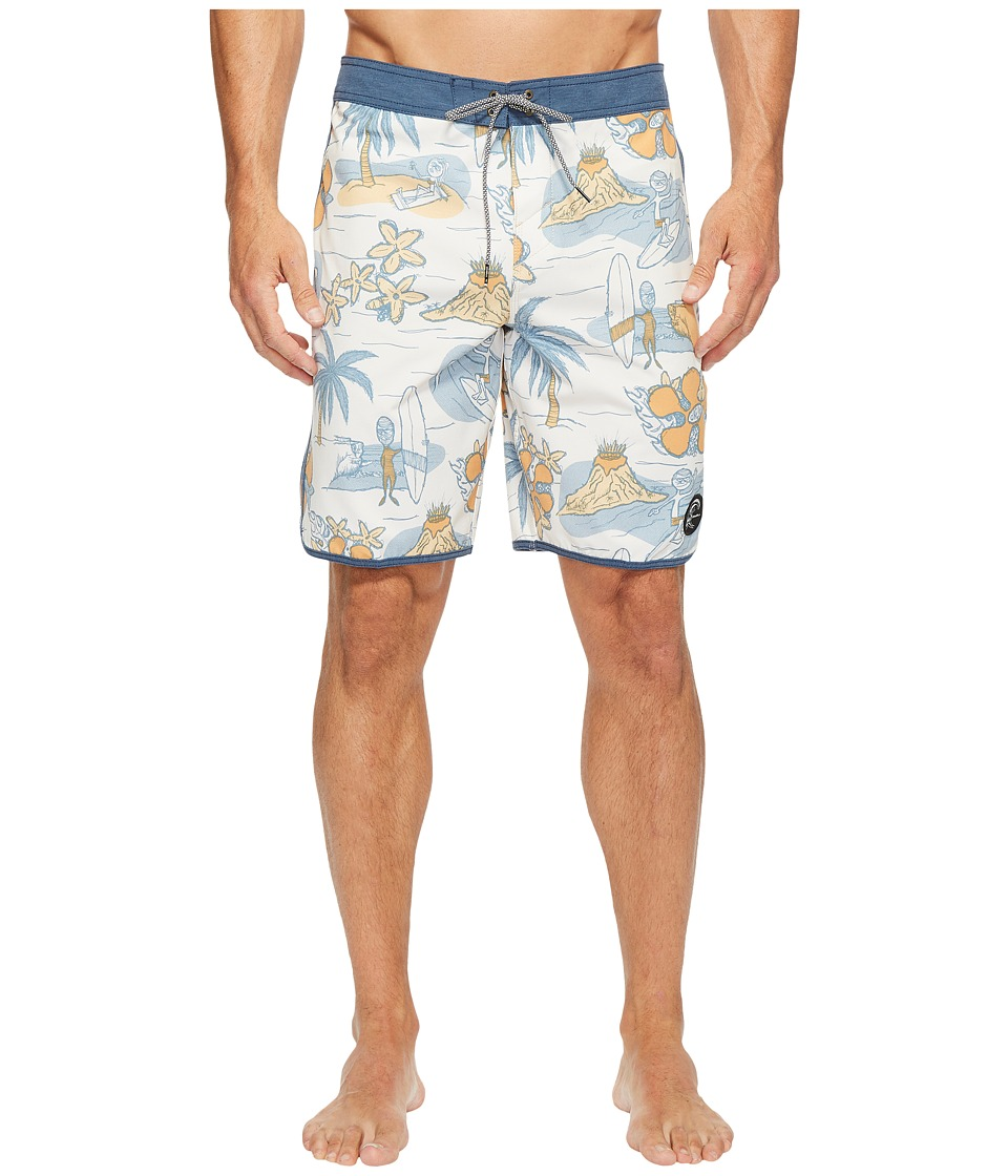 O'Neill - Hyperfreak Nick Simich Boardshorts (Bone) Men's Swimwear