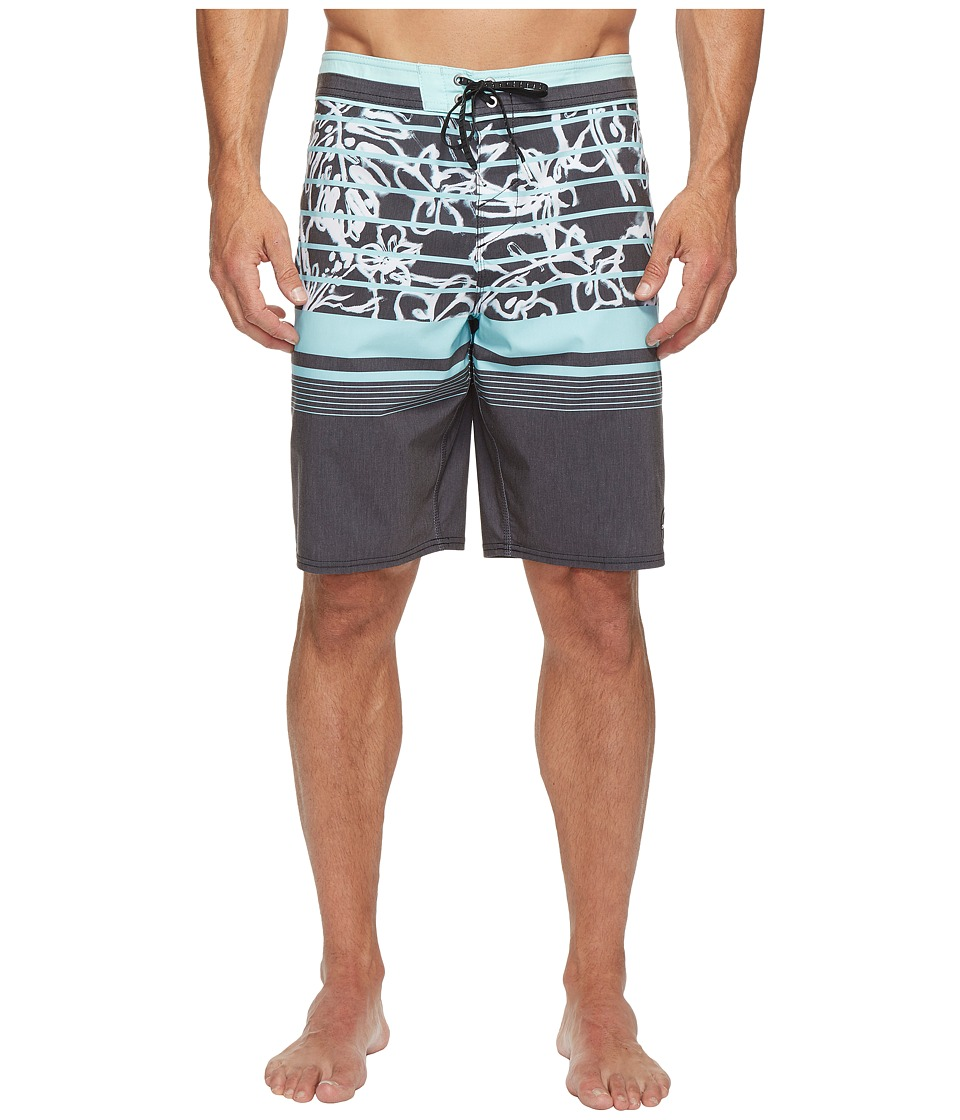 O'Neill - Hyperfreak Lanai Boardshorts (Black) Men's Swimwear