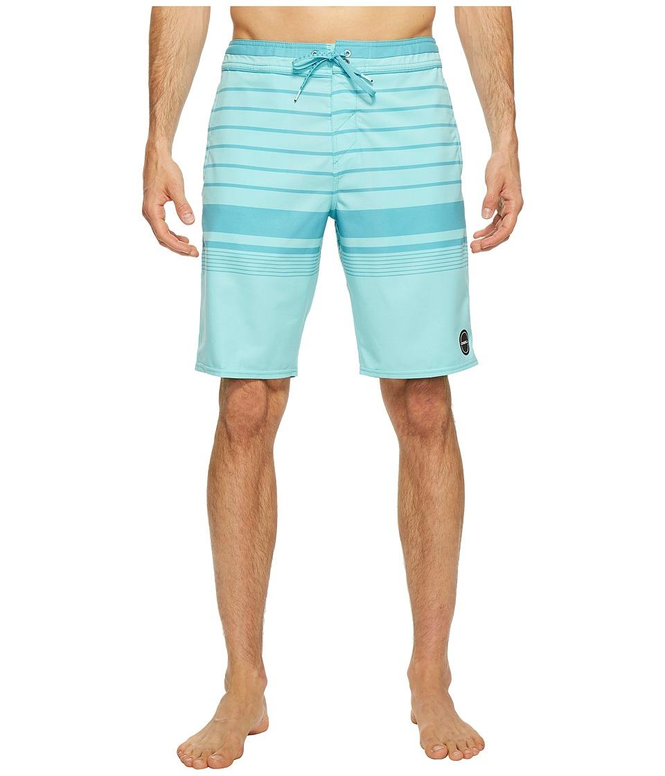 O'Neill - Hyperfreak Vista 24-7 Superfreak Series Boardshorts (Turquoise) Men's Swimwear