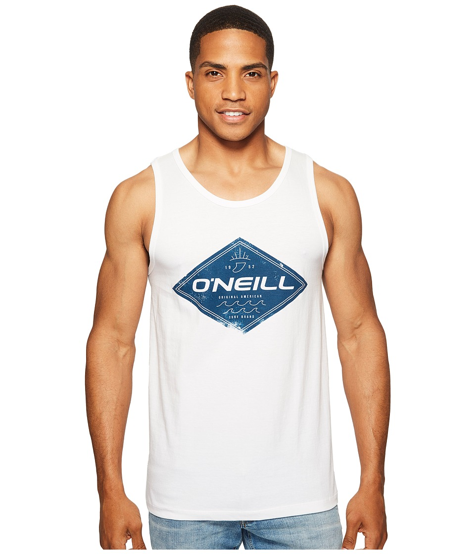 O'Neill - Zebra Tank (White) Men's Sleeveless