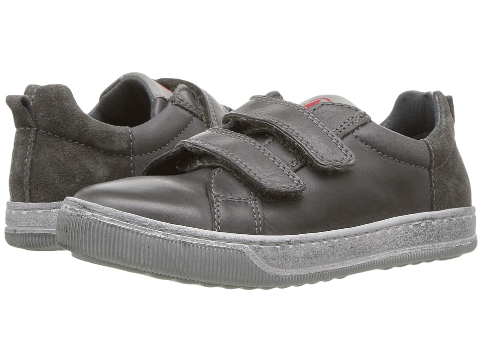 Naturino - Caleb AW17 (Little Kid/Big Kid) (Grey) Boy's Shoes