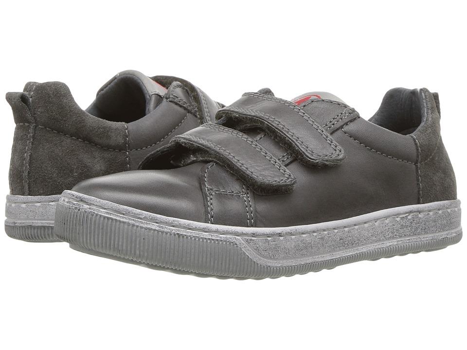 Naturino - Caleb AW17 (Little Kid/Big Kid) (Grey) Boy's Shoes
