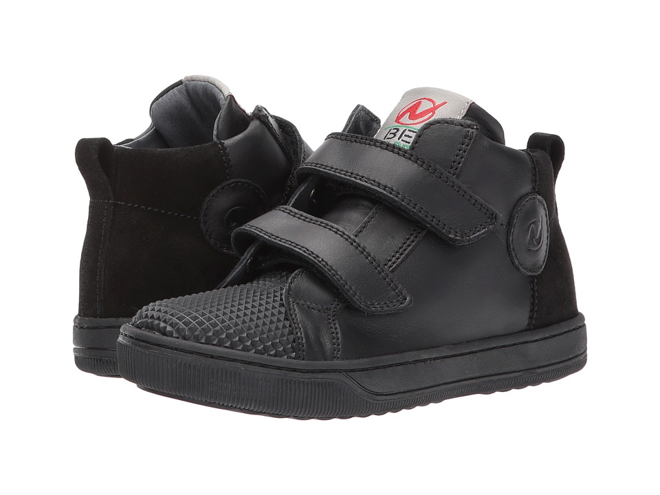 Naturino - Play AW17 (Little Kid/Big Kid) (Black) Boy's Shoes