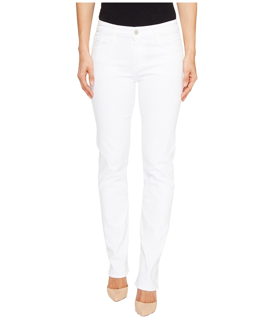 J Brand - Amelia Mid-Rise Straight in Blanc (Blanc) Women's Jeans